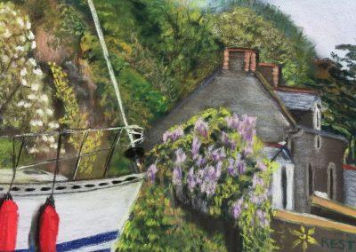 89M-2017 Plouer sur Rance voyage autour du jardin
