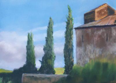 119i-2018 Italie paysage de Toscane