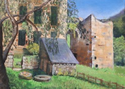 95i-2017 LEHON abbaye un jour de canicule