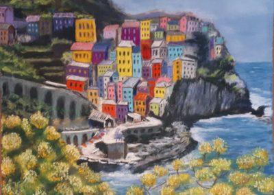 108i-2018 Italie village des Cinque Terre