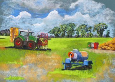 166i-2019 la campagne agricole de la Chapelle du Lou