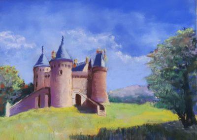 174i-2019 Combourg le château de Monsieur BRIAND