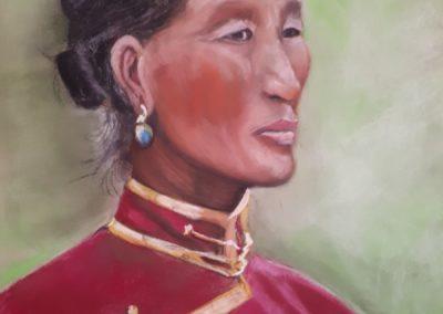 219i- 2020 femme mongole
