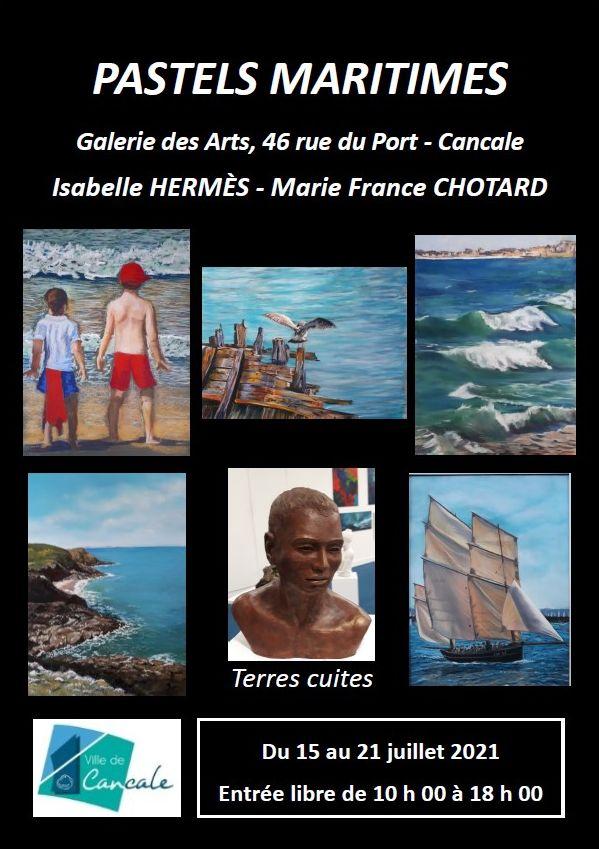 Exposition Pastels Maritimes à Cancale du 15 au 21 juillet 2021